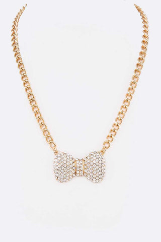 Bow Tie Necklace