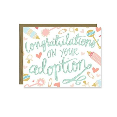 Card - Congrats on Your Adoption