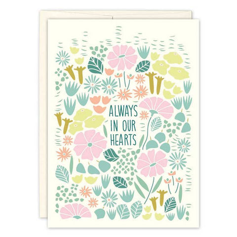 Sympathy Card - Always in Our Hearts