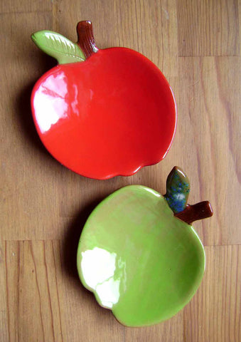 Apple Trinket Dish