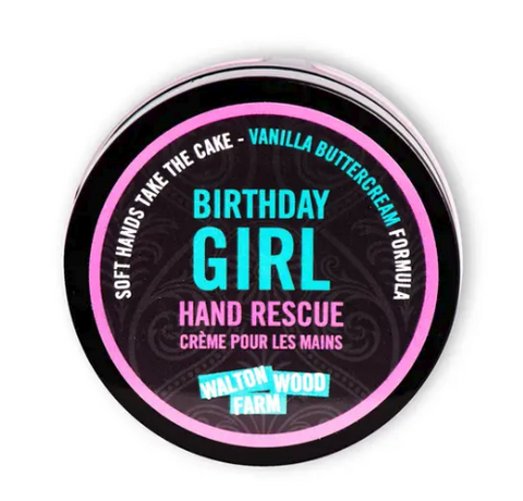 Birthday Girl Hand Rescue Cream