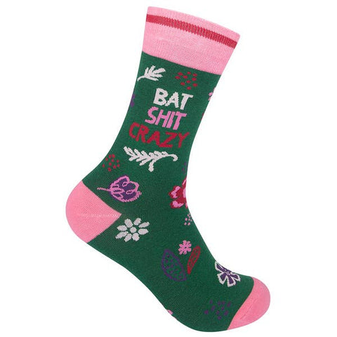 Funny Socks - Bat Shit Crazy