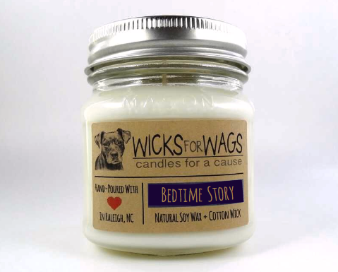 Bedtime Story Wicks for Wags Candle