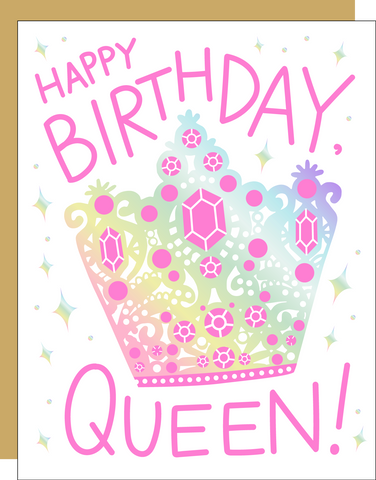 Card - Happy Birthday Queen