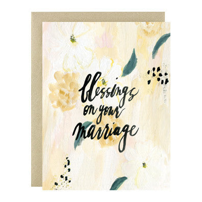 Greeting Card - Blessings on Your Marriage