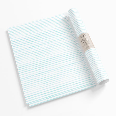 Gift Wrap - Blue Striped