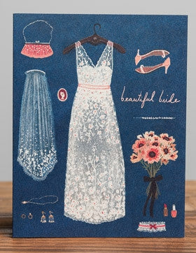Greeting Card - Beautiful Bride