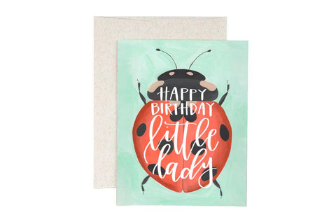 Card - Happy Birthday Little Lady