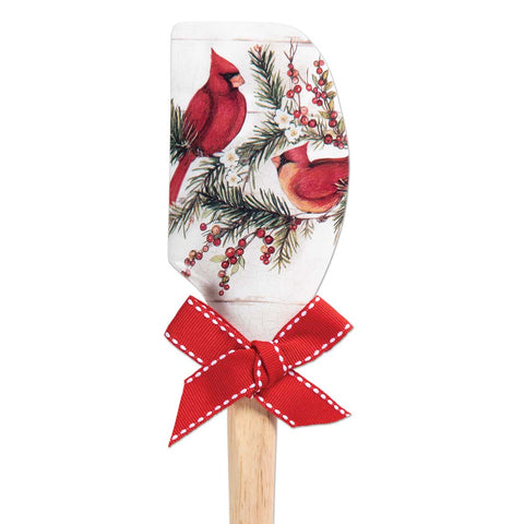 Cardinal Holiday Spatula