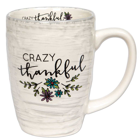 Crazy Thankful Mug