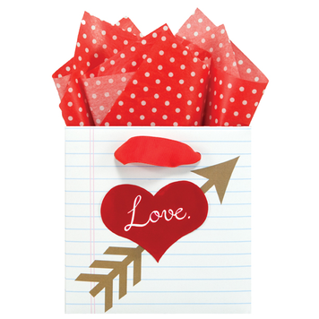 Cupid's Sketchbook Small Gift Bag