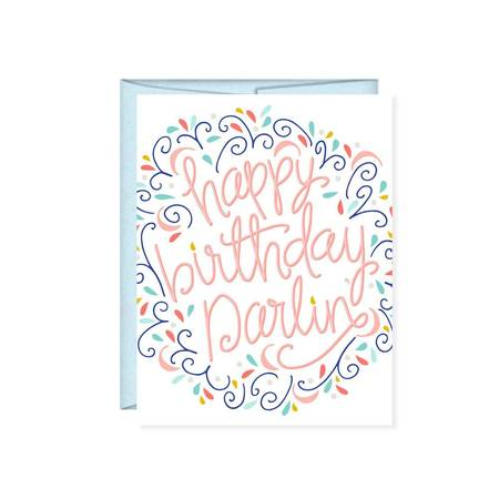 Card - Happy Birthday Darlin'
