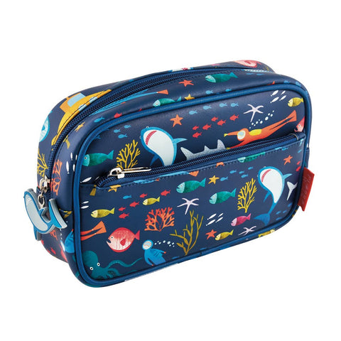 Deep Sea Jumbo Pencil Pouch