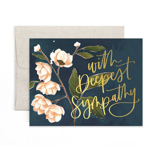 Card - With Deepest Sympathy
