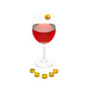 Emoji Wine Glass Charms