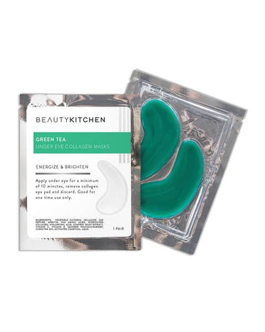 Green Tea Gel Eye Mask Set