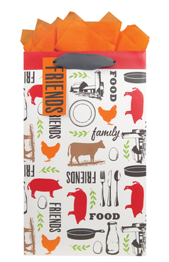 Gift Bag - Farm to Table - Medium Pillar