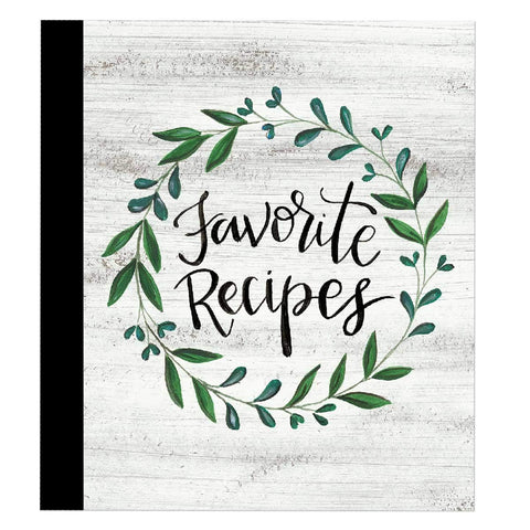 Favorite Recipes Binder