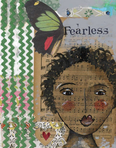 Kelly Rae Roberts Art Print - Fearless