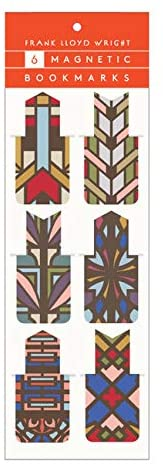 Frank Lloyd Wright Magnetic Bookmarks