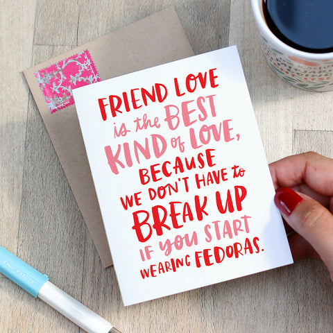 Friendship Card - Best Love