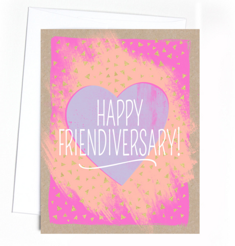 Card - Happy Friendiversary