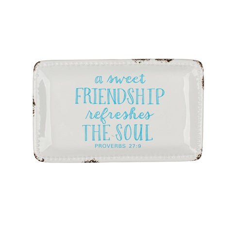 A Sweet Friendship Trinket Dish