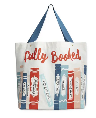 Fully Booked Canvas Tote Bag