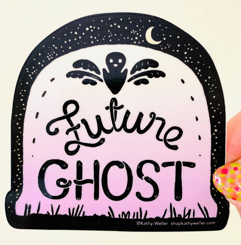 Vinyl Sticker - Future Ghost