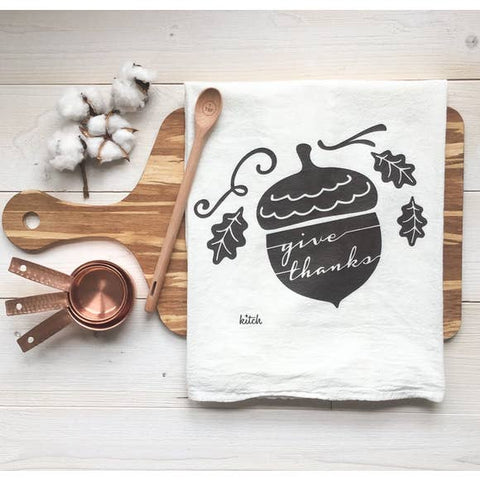 Give Thanks Kitchen Towel