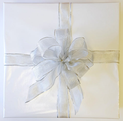 Gift Wrap Service - Glossy White