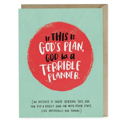 Empathy Card - God's Plan