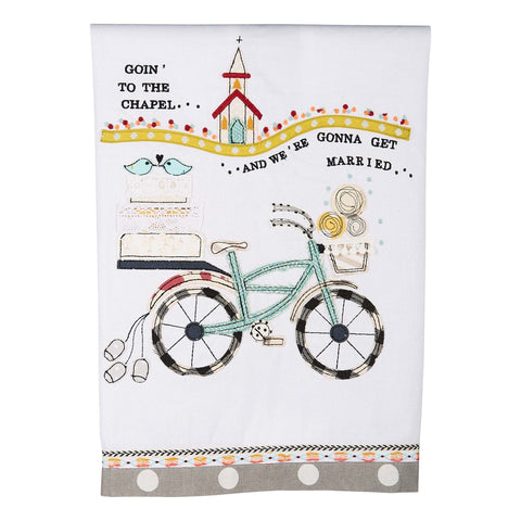 Tea Towel - Going to the Chapel
