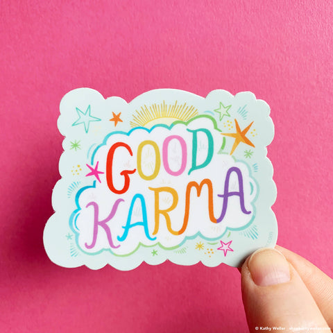 Vinyl Sticker - Good Karma
