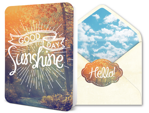 Deluxe Card Set - Good Day Sunshine
