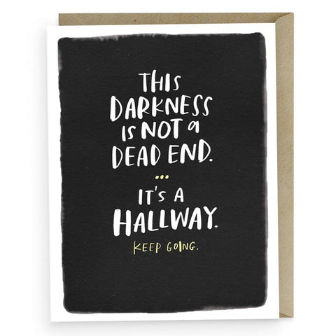 Empathy Card - It's a Hallway