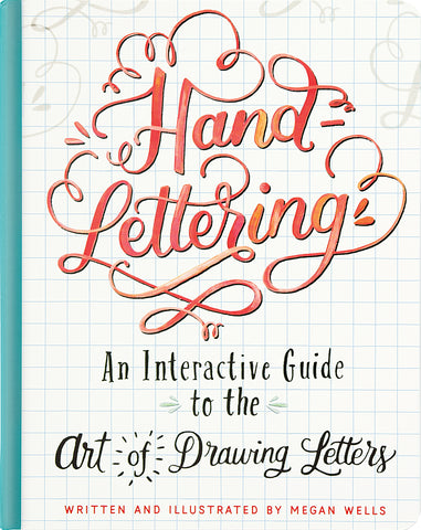 Hand-Lettering Guided Journal