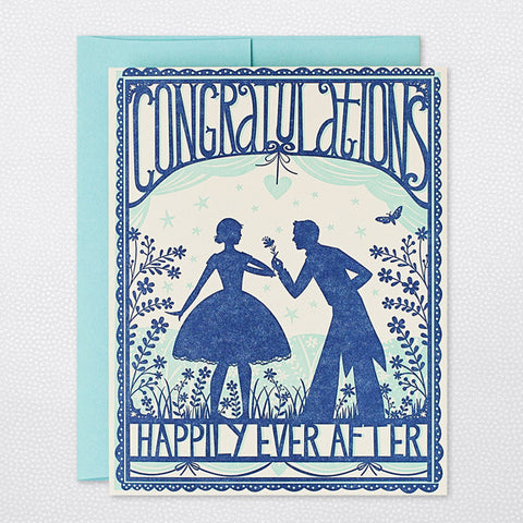 Greeting Card - Congratulations (Happily Ever After)