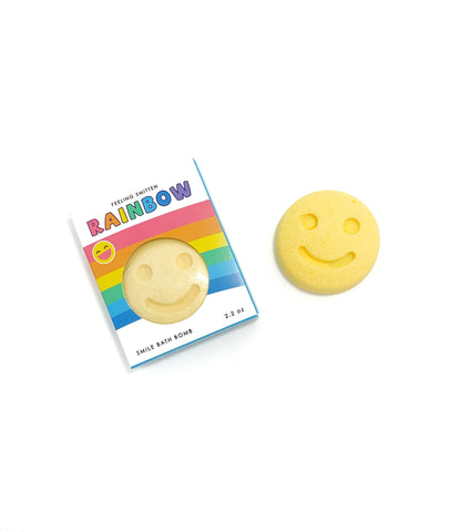 Rainbow Smile Bath Bomb