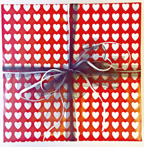 Gift Wrap Service - Hearts