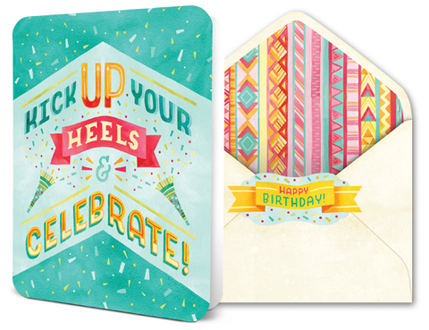 Deluxe Card Set - Kick Up Your Heels