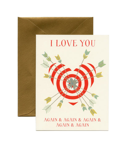 Card - I Love You Again and Again
