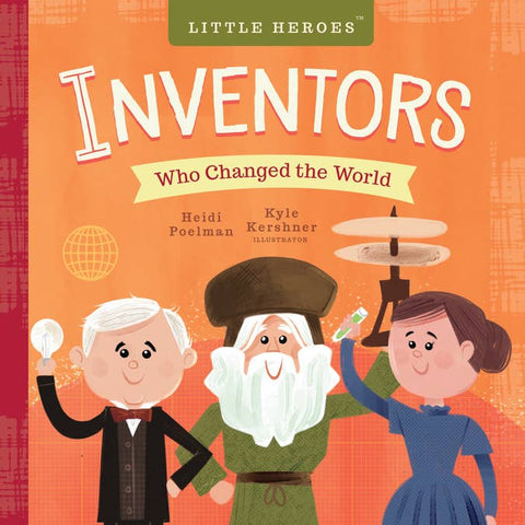 Little Inventors Board Book