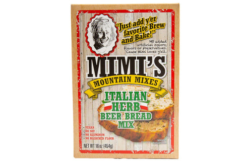 Mimi's Mountain Mixes - Italian Herb Beer Bread
