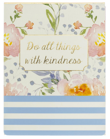 Do All Things With Kindness Pocket Notes