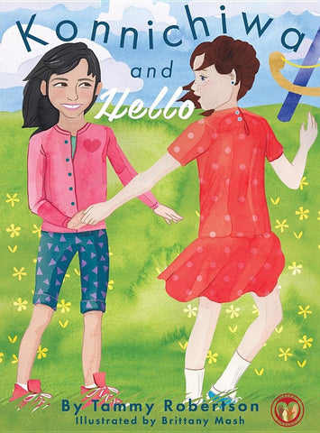 Konnichiwa and Hello - A Celebrate Diversity Book