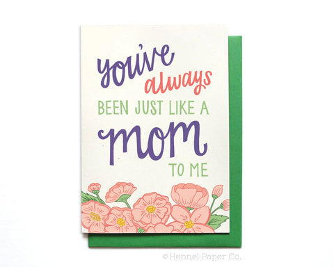 Mother's Day Card - Just Like a Mom to Me