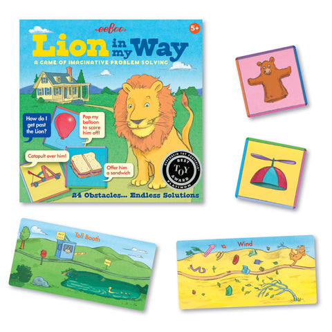 Lion in My Way - A Game of Imaginative Problem Solving