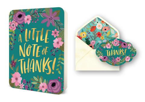 Deluxe Card Set - Little Note of Thanks