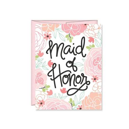 Card - Maid of Honor